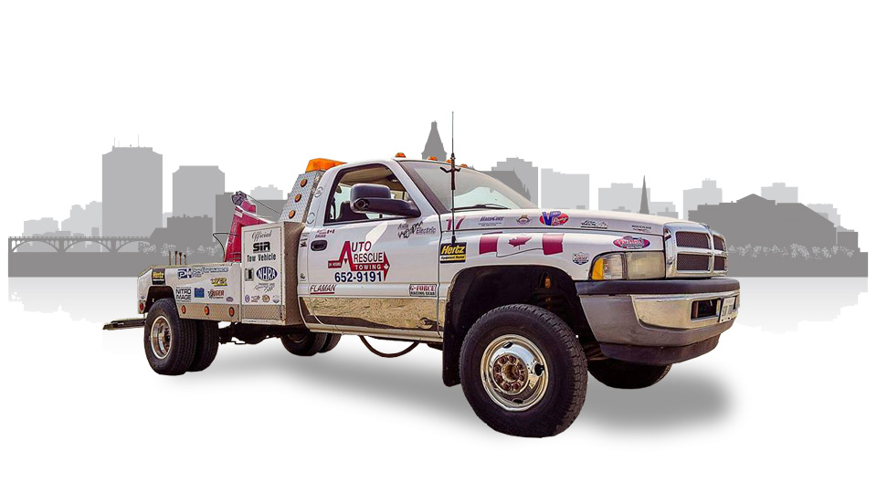 Auto Rescue Towing Saskatoon Skyline